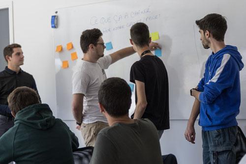 La gestion de projet et le coaching à l'école