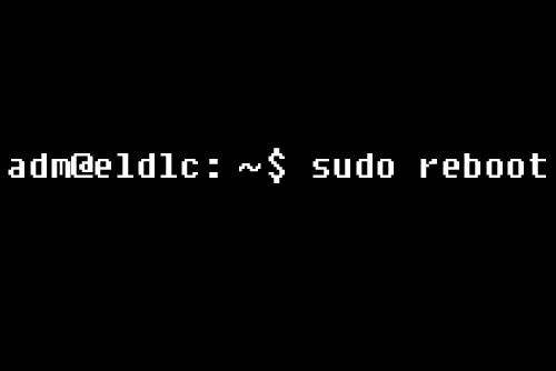 Le projet $ sudo reboot